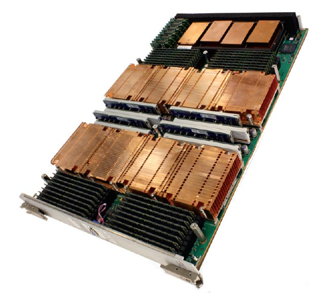 Cray XE6 compute blade. Image courtesy of Cray Inc.