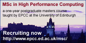 MSc in High Performance Computing
